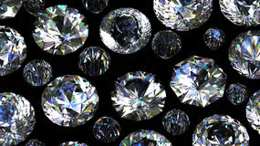 Gemstones background. Diamond Royalty Free Stock Photos