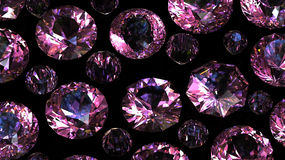Gemstones background. Diamond Royalty Free Stock Image