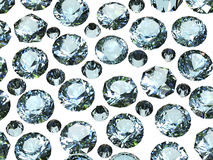 Gemstones background. Diamond Royalty Free Stock Images