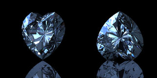 Gemstones background. Diamond Stock Images