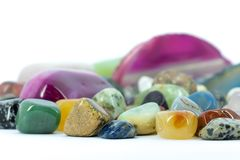 Gemstones Royalty Free Stock Photography