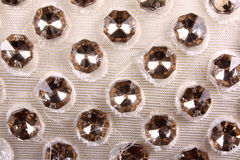 Gemstones Fabric Stock Image