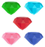 Gemstones / illustration Royalty Free Stock Photos