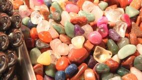 Gemstones jewelery stock video
