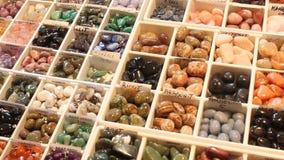 Gemstones jewelery stock video footage