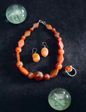 Gemstones jewelry Stock Images
