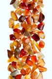 Gemstones na białym tle Obraz Stock