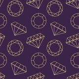 Gemstones pattern Stock Photos