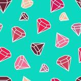 Gemstones są zawsze royalty ilustracja