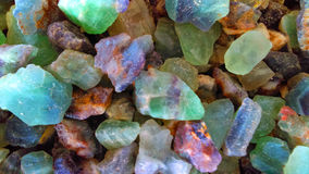 Gemstones tło Zdjęcia Royalty Free