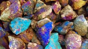 Gemstones tło Zdjęcie Stock