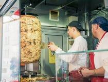 Gemuese Kebab του Mustafa στο Βερολίνο στοκ εικόνα με δικαίωμα ελεύθερης χρήσης