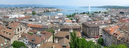 Genève images stock
