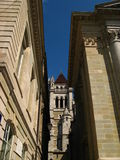 Genève, Cathedrale Rue-Pierre 05 Images libres de droits