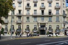 Genève du centre Photo stock
