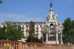 Genève du centre Photo libre de droits