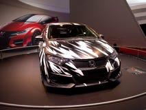 Genève 2014 för begrepp för Honda Civic typ R Royaltyfria Bilder