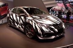 Genève 2014 för begrepp för Honda Civic typ R Royaltyfri Foto