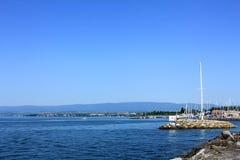 Genève lacke Stock Fotografie