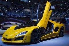 Genève Motorshow 2009 - Frazer Nash Namir Stock Afbeelding