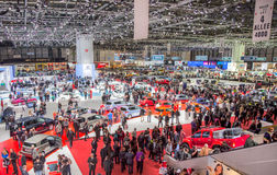 Genève Motorshow 2012 photographie stock libre de droits
