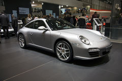 Genève Motorshow - Porsche Targa Stock Foto