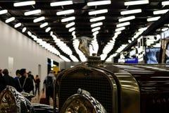Genève Schweiz, marsch 9, 2019 - internationell motorshow royaltyfri fotografi