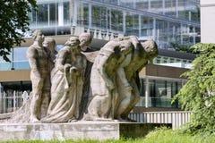 Genève, Suisse, construction de l'Organisation mondiale du commerce OMC Photographie stock libre de droits