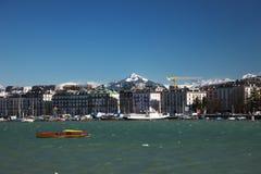 Genève Swizerland Arkivfoto