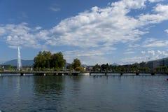 Genève ziet eruit Royalty-vrije Stock Foto's