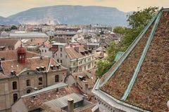 Genève, Zwitserland Stock Afbeelding