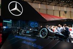 Genève, Zwitserland, 9 maart, 2019 - Internationale Motorshow stock afbeeldingen