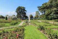 GENÈVE, ZWITSERLAND - SEPTEMBER 07: Het Landhuis van parkla, Genève, Zwitserland 07 september, 2012 stock fotografie