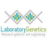 Genética del logotipo Foto de archivo libre de regalías