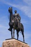 Gen. Meade Standbeeld, dat Voorzijde onder ogen ziet Stock Afbeelding