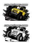 Gen-Right Offroad Royalty Free Stock Photography
