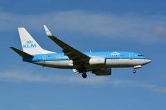 GEN seguente di KLM Boeing 737/MSN 38127/PH-BGP Immagini Stock