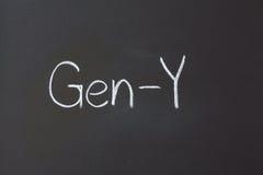 Gen-Y Royalty Free Stock Photo