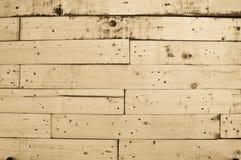 Genageld houten patroon Stock Fotografie