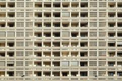 Genationaliseerde huisvesting met lage huurprijs stock afbeelding