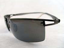 Genauere Ansicht der Sonnenbrillen Lizenzfreie Stockfotografie