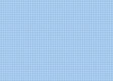 Genaues blaues Zeichenpapier mit Maßeinteilung Stockfotografie