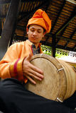 Gendang (Drum). Drums is the instruments are made from the skin of animals such as buffalo , goat or cow .  It is one of the musical instruments in the Stock Photography