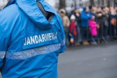 gendarme stock foto
