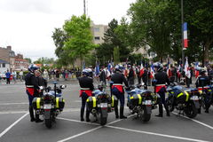 Gendarme in France Royalty Free Stock Images