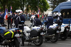 Gendarme in France Stock Images