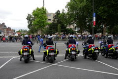 Gendarme in France Royalty Free Stock Image