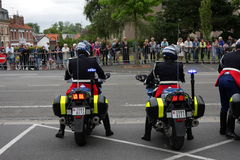 Gendarme in France Stock Photography