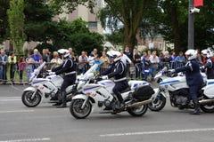 Gendarme in France Stock Image
