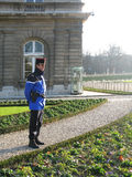 Gendarme on guard Stock Photography